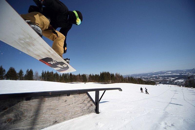 中山 場 スキー 奥 高原